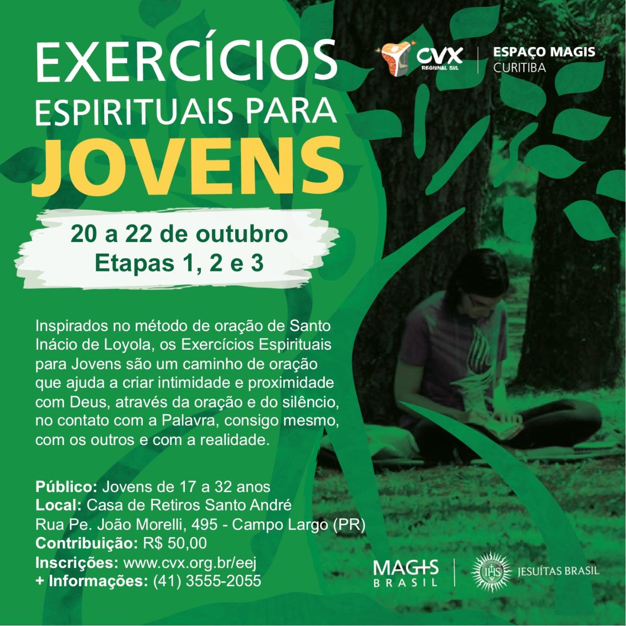 Espaço Magis Curitiba abre inscrição para EEJ Paraná